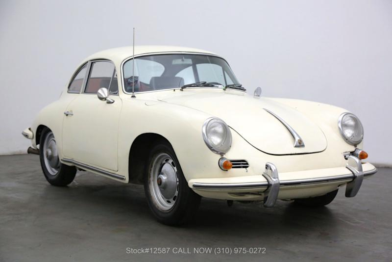 Porsche 356B, de 1963, colocado à venda.