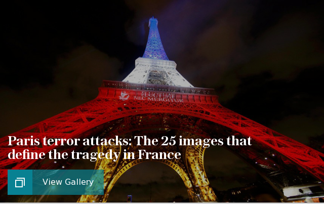 Paris terror attacks: The 25 images that define the tragedy in France