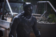 <p>The first Marvel movie not led by a white male lead had a lot riding on its shoulders, but Ryan Coogler's afrofuturistic Marvel debut shrugged off those pressures with ease delivering a knockout entry to the franchise. Black Panther is unlike any other Marvel movie to date. Long live the king. (Disney) </p>