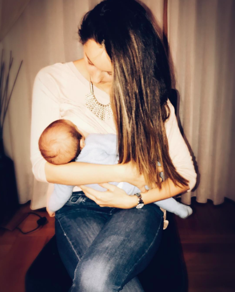 Peter Andre's wife Emily has opened up about her son's tongue-tie [Photo: Instagram/peterandre]