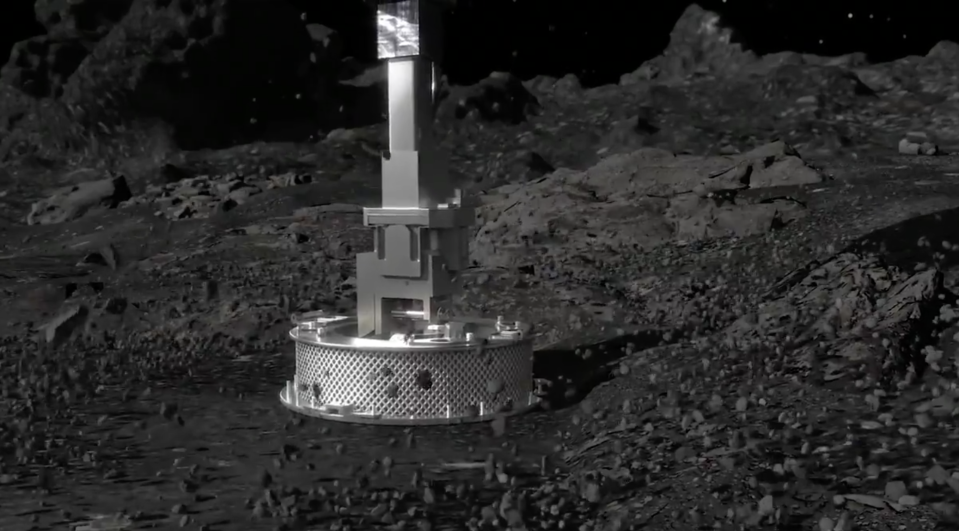 Watch: NASA's incredible kiss and back space mission