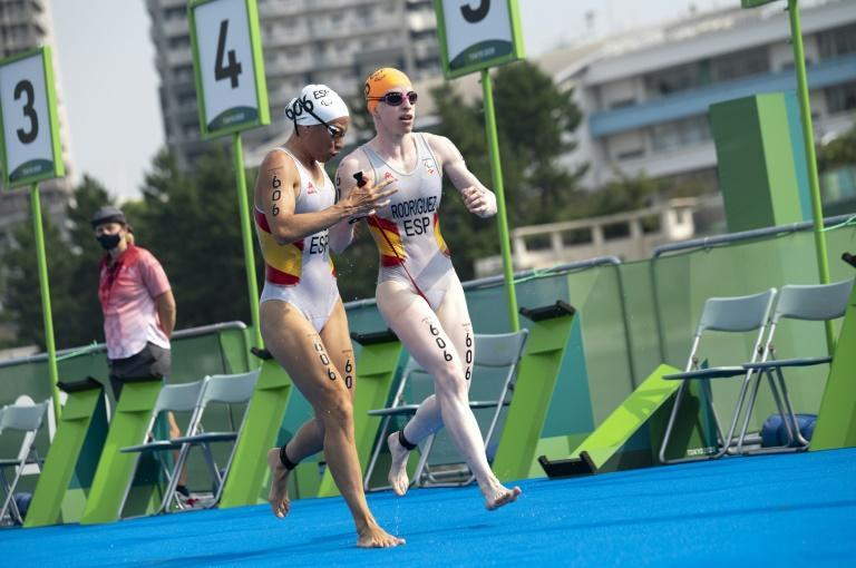 Spain's Susana Rodriguez said she had 'done my homework' in training hard for the race (AFP/Charly TRIBALLEAU)