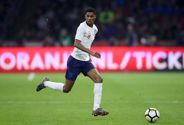 <p>Marcus Rashford<br> Age 20<br> Caps 17<br> Goals 2<br>A bolter in France two years ago but now an established member of the side. A Wembley performance of class and character against Slovakia two years ago seemed to place him for a starring role but his form has cooled for the Red Devils in the second half of the season.<br>Key stat: Nobody has won more caps under Southgate's management, with Rashford matching Walker by appearing in 14 of the manager's 16 games. </p>