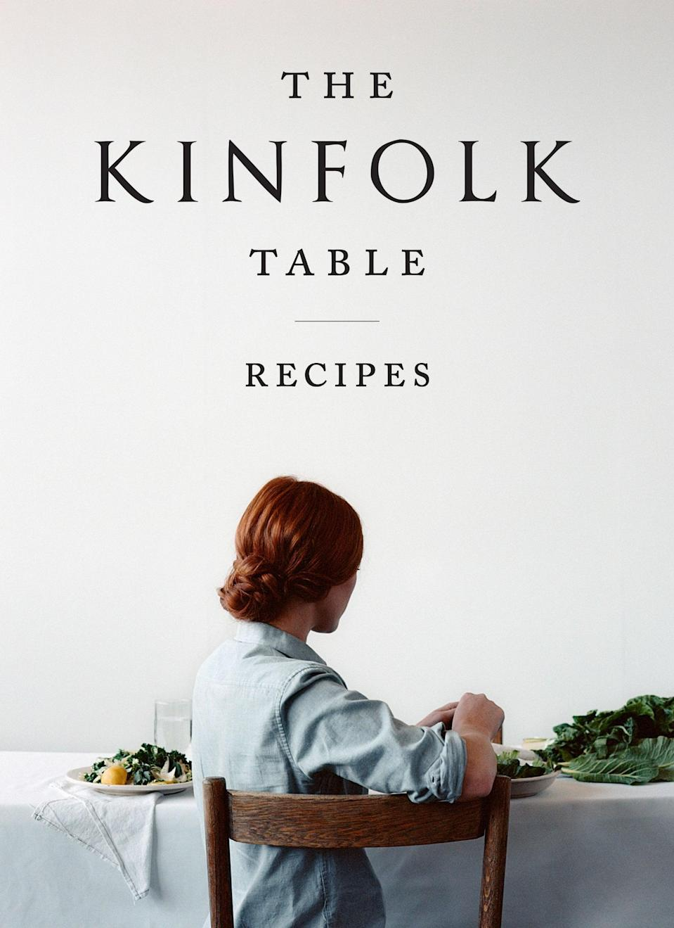 <p>Gather around <span><strong>The Kinfolk Table</strong></span> ($28). Profiling 45 tastemakers - ranging from home cooks, bloggers, chefs, writers, and bakers - this cookbook is an ode to simple living and bringing people together through a common love for eating.</p>
