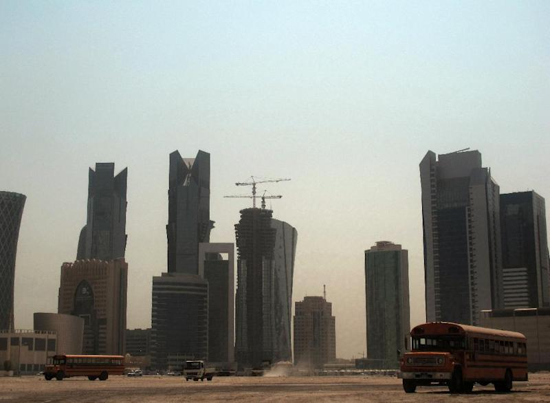 A view of the Qatari capital Doha, on October 4, 2012