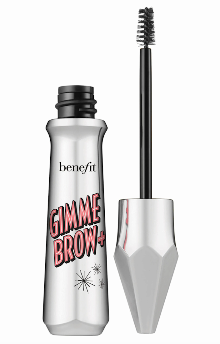 """<br> <br> <strong>Benefit</strong> Gimme Brow + Volumizing EyeBrow Gel, $, available at <a href=""""https://go.skimresources.com/?id=30283X879131&url=https%3A%2F%2Fwww.nordstrom.com%2Fs%2Fbenefit-gimme-brow-volumizing-eyebrow-gel%2F4699984"""" rel=""""nofollow noopener"""" target=""""_blank"""" data-ylk=""""slk:Nordstrom"""" class=""""link rapid-noclick-resp"""">Nordstrom</a>"""