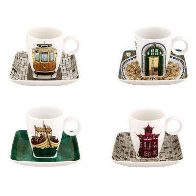 """<p><strong>Vista Alegre</strong></p><p>williams-sonoma.com</p><p><strong>$155.00</strong></p><p><a href=""""https://go.redirectingat.com?id=74968X1596630&url=https%3A%2F%2Fwww.williams-sonoma.com%2Fproducts%2Fvista-alegre-porto-espresso-cup-set&sref=https%3A%2F%2Fwww.goodhousekeeping.com%2Fholidays%2Fgift-ideas%2Fg29250426%2Fgifts-for-coffee-lovers%2F"""" rel=""""nofollow noopener"""" target=""""_blank"""" data-ylk=""""slk:Shop Now"""" class=""""link rapid-noclick-resp"""">Shop Now</a></p><p>You know how your in-laws just got back from that big European trip and won't stop talking about all the espresso they drank? Consider getting them these (somehow both elegant and kitsch) espresso mugs with designs from around the world. </p>"""