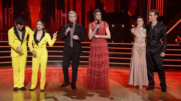 PHOTO: Five celebrity and pro-dancer couples return to the ballroom to compete on the 10th week of the 2019 season of 'Dancing with the Stars,' Nov. 18, 2019. (Eric Mccandless/ABC)