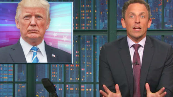 Seth Meyers Drags Trump For 'Cruel And Capricious' DACA Decision