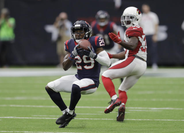 Texans safety Andre Hal has been diagnosed with Hodgkin's lymphoma, the team announced on Friday. (AP)