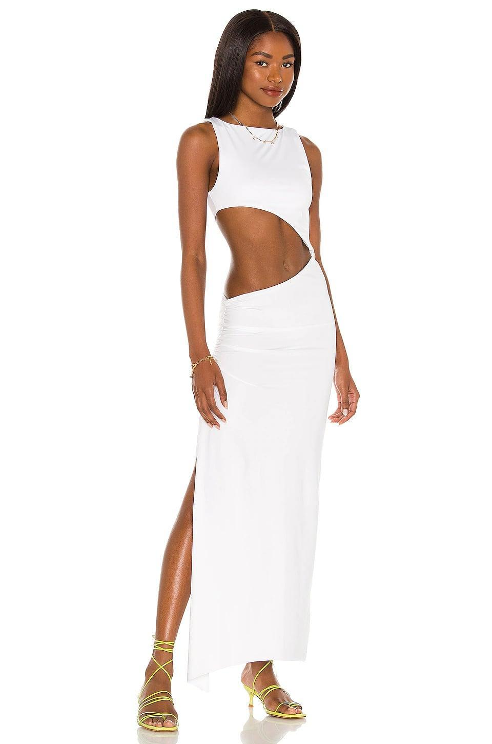 <p>Show off your stomach in this statement-making <span>Agua Bendita x Revolve Massai Dress</span> ($200). All eyes will be on you.</p>