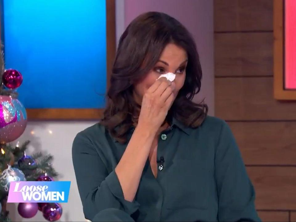 Andrea McLean announces she is quitting Loose Women (ITV)