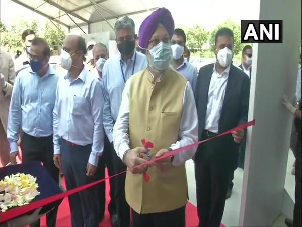 Civil Aviation Minister Hardeep Singh Puri inaugurated India's first General Aviation Terminal at Delhi Airport (Photo/ANI)
