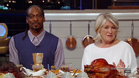 'Martha & Snoop's Potluck Dinner Party' is now an Emmy nominee (Photo: VH1)