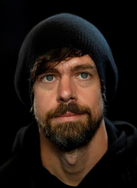 FILE PHOTO: Dorsey, co-founder of Twitter and fin-tech firm Square, sits for a portrait during an interview with Reuters in London