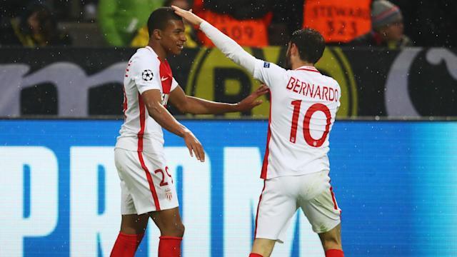 The teenage forward scored twice against Borussia Dortmund in his latest Champions League outing, with his manager quick to hail his development