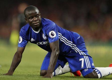Britain Football Soccer - Arsenal v Chelsea - Premier League - Emirates Stadium - 24/9/16 Chelsea's N'Golo Kante  Action Images via Reuters / John Sibley Livepic/Files