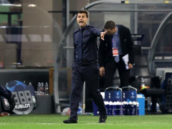 Cold hard reality hits Mauricio Pochettino after Tottenham's dispiriting loss to Inter Milan