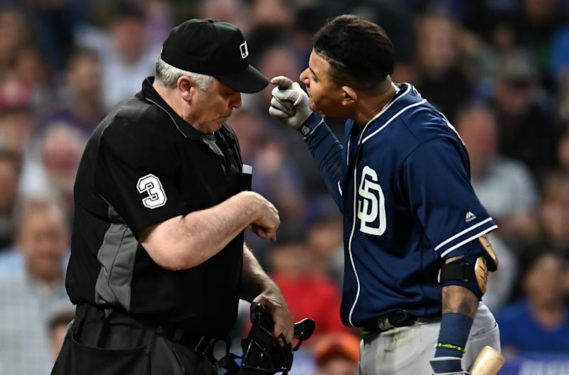 Baseball umpires slam 'disgraceful' Machado ban