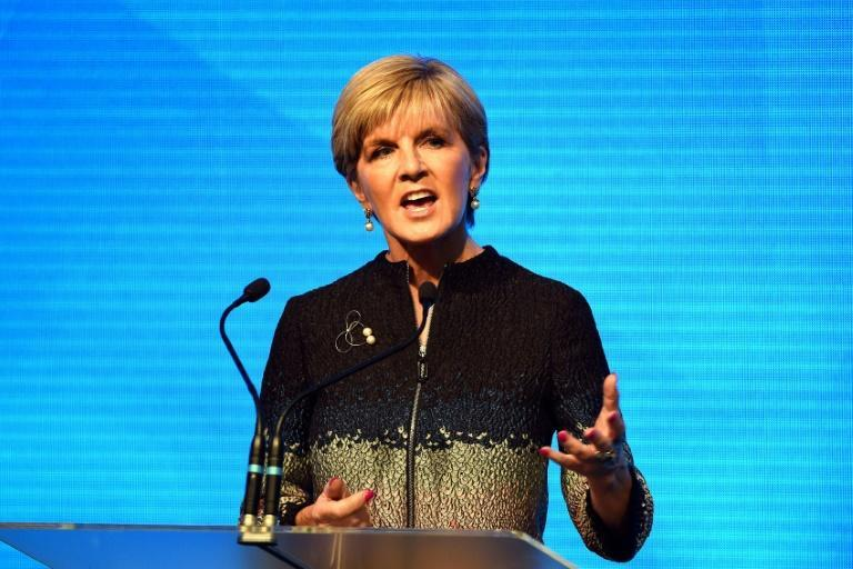 Former deputy prime minister Julie Bishop said that a group of men in the conservative ruling Liberal Party attempted to thwart her political aspirations