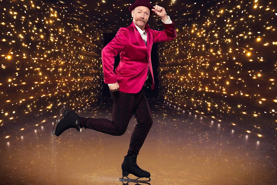 <p>Rufus Hound, who is taking part in Dancing on Ice</p> (PA)