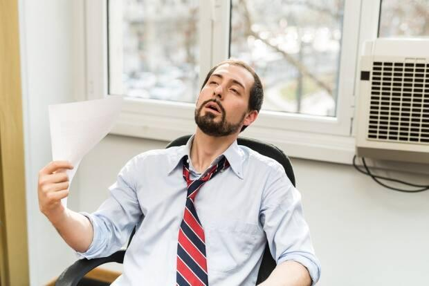Air conditioning can be a life-saver during a heat wave, but stock at many stores throughout the Lower Mainland has been running low.  (Shutterstock - image credit)