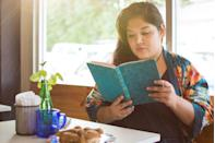 """<p>If you've been ignoring the pile of unread books in your living room, now is the time to start reading them - or, hey, you can even reread something you know you love that you haven't read in a while. </p><p>The University of Liverpool looked at 4,164 adults and found that those who <a href=""""https://manuscritdepot.com/documentspdf/Galaxy-Quick-Reads-Report-FINAL%20.pdf"""" rel=""""nofollow noopener"""" target=""""_blank"""" data-ylk=""""slk:read regularly"""" class=""""link rapid-noclick-resp"""">read regularly</a> were less likely to be stressed and depressed, and more likely to feel confident and social. Reading regularly also helped them be more proactive when it came to solving problems. </p>"""
