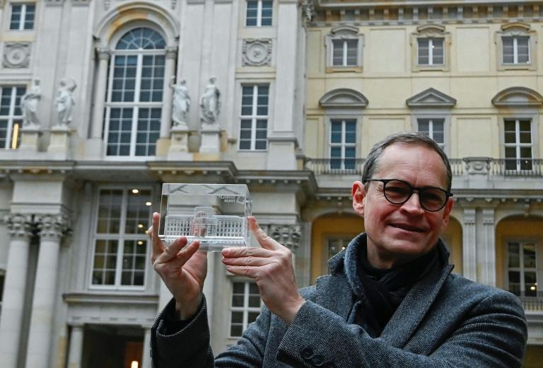 """Berlin's mayor Michael Mueller says Humboldt Forum would be """"a place to reflect on our history and our place in the world"""""""