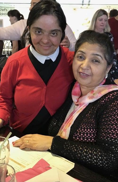 Kashmir Bains, 64, and her daughter Paramjeet Bains, 43, who died due to Covid-19 in Wolverhampton, UKFamily /JustGiving