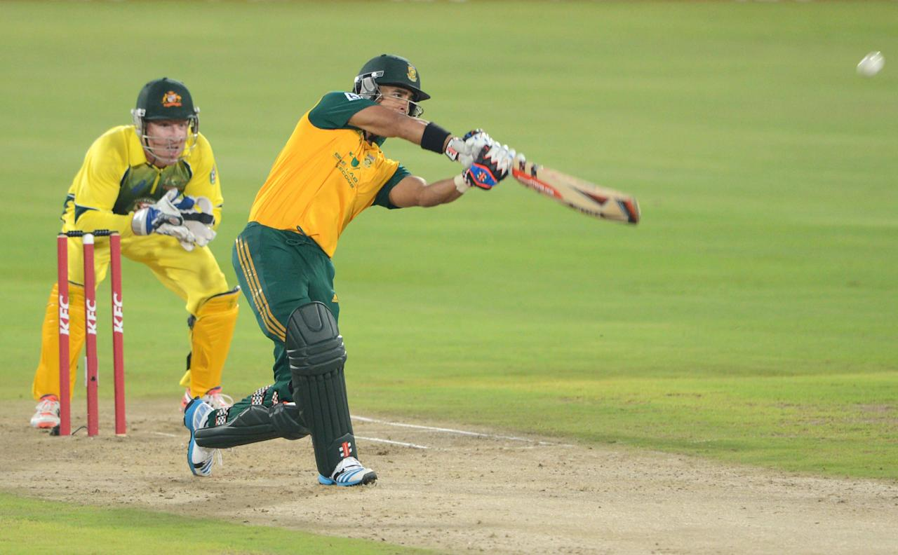 CENTURION, SOUTH AFRICA - MARCH 14: JP Duminy of South Africa during the 3rd KFC T20 International match between South Africa and Australia at SuperSport Park on March 14, 2014 in Centurion, South Africa. (Photo by Lee Warren/Gallo Images/Getty Images)