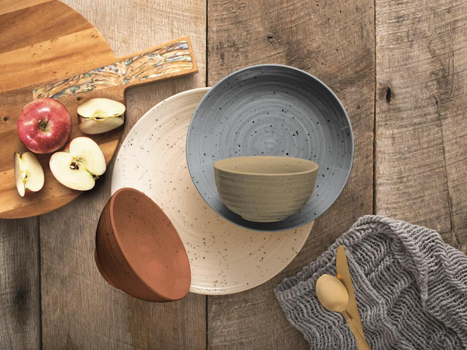 """<h2>Dinnerware Sets<br></h2><h3>Siterra Painter's Palette 16 Piece Dinnerware Set, Service for 4<br></h3><br>A complete set of dinnerware guarantees that there will be no awkwardly mismatched plates when you invite your friends over for a made-by-you (or Seamless-ed) meal.<br><br><em>Shop <strong><a href=""""https://www.jossandmain.com/kitchen-tabletop/pdp/siterra-painters-palette-16-piece-dinnerware-set-service-for-4-oyg10040.html"""" rel=""""nofollow noopener"""" target=""""_blank"""" data-ylk=""""slk:Joss & Main"""" class=""""link rapid-noclick-resp"""">Joss & Main</a></strong></em><br><br><strong>Joss & Main</strong> Siterra Painter's Palette 16 Piece Dinnerware Set, Serv, $, available at <a href=""""https://go.skimresources.com/?id=30283X879131&url=https%3A%2F%2Fwww.jossandmain.com%2Fkitchen-tabletop%2Fpdp%2Fsiterra-painters-palette-16-piece-dinnerware-set-service-for-4-oyg10040.html"""" rel=""""nofollow noopener"""" target=""""_blank"""" data-ylk=""""slk:Joss & Main"""" class=""""link rapid-noclick-resp"""">Joss & Main</a>"""