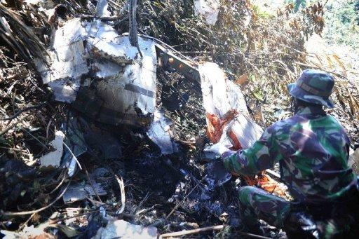 Russian experts have joined Indonesian teams at the crash site