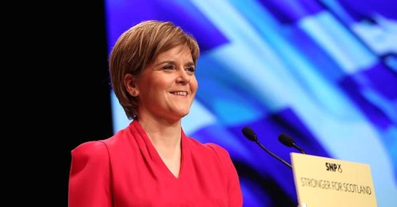 Live: Scotland's Sturgeon believes she can win a second independence vote