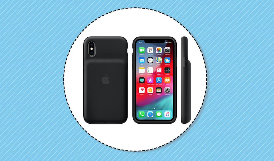 The new iPhone battery case for the XS, XS Max and XR models. (Photo: Apple.com)