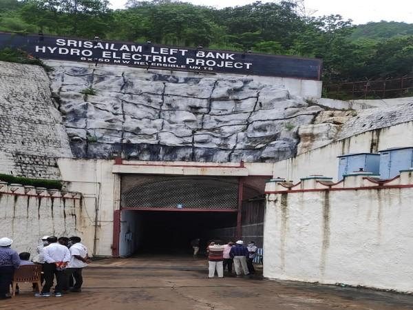 Srisailam Left Bank Hydra Electric Project.