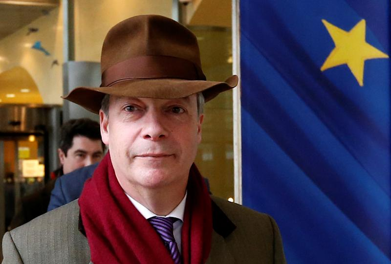 The former Ukip leader's latest stunt should be seen for what it is – a further example of his ability to make headlines: Reuters