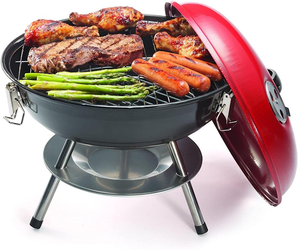 <p><span>Cuisinart CCG190RB Portable Charcoal Grill</span> ($21) has a 150-square-inch chrome plated cooking rack. It has a dual venting system, giving you the ultimate charcoal management and temperature control. It even has an ash catcher for mess free summer fun.</p>