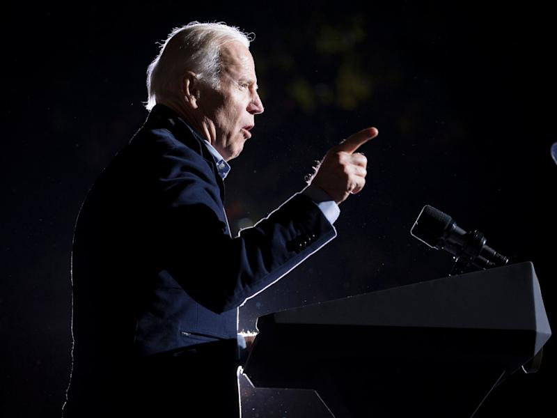 Joe Biden has finally declared – but whether he's the man to take on Trump remains to be seen