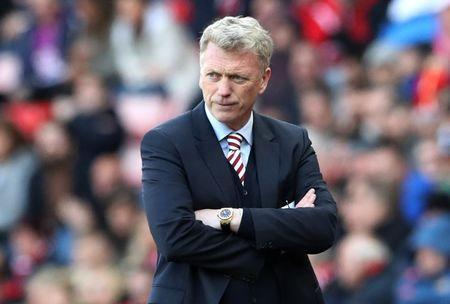 Britain Soccer Football - Sunderland v West Ham United - Premier League - Stadium of Light - 15/4/17 Sunderland manager David Moyes Reuters / Scott Heppell Livepic