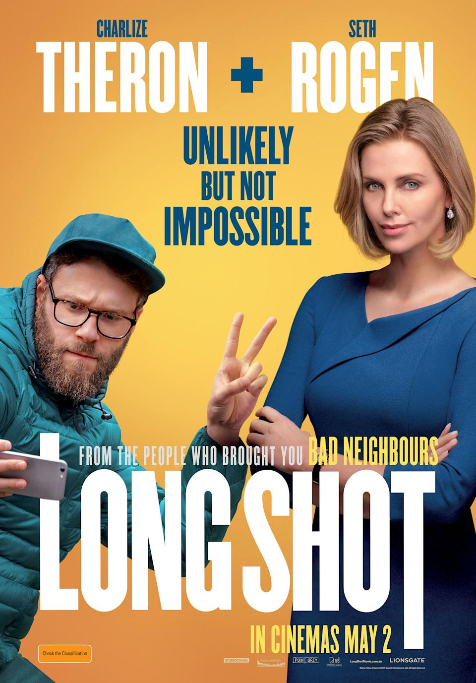 Charlize Theron played an ambitious politician in this raucous comedy. (Lionsgate)