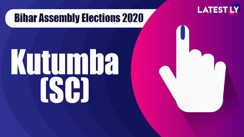 Kutumba Vidhan Sabha Seat in Bihar Assembly Elections 2020: Candidates, MLA, Schedule And Result Date
