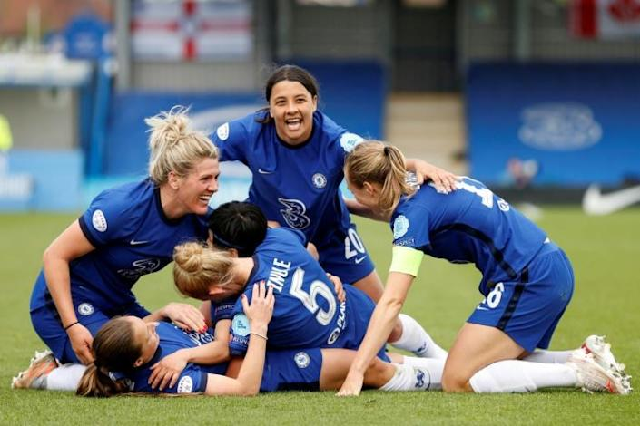 Chelsea head to Gothenburg fresh from winning the English WSL and after dumping out German powerhouses Wolfsburg and Bayern Munich in the last two rounds