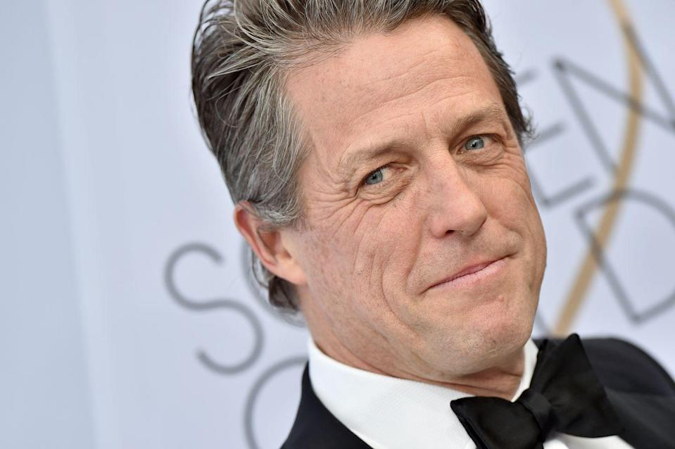 "<p>When it comes to acting, Hugh Grant is his own biggest critic, which has led to ""out-of-the-blue panic attacks,"" he revealed in an interview with <a href=""https://ew.com/article/2016/08/11/hugh-grant-panic-attacks-acting/"" rel=""nofollow noopener"" target=""_blank"" data-ylk=""slk:Entertainment Weekly"" class=""link rapid-noclick-resp""><em>Entertainment Weekly</em></a>. ""It'll be in a very easy, simple scene when everything is going swimmingly, and then suddenly, bang, I'm shvitzing and can't remember my lines. At one stage I was asking directors not to say 'action' because I found that the word sent me into paroxysms of terror."" The struggle made him quit acting for nearly five years, but he returned to a lead role in <em>Florence Foster Jenkins </em>in 2016, <a href=""https://www.hollywoodreporter.com/race/awards-chatter-podcast-hugh-grant-921383"" rel=""nofollow noopener"" target=""_blank"" data-ylk=""slk:thanks to a ""brilliant script"" and the support of Meryl Streep"" class=""link rapid-noclick-resp"">thanks to a ""brilliant script"" and the support of Meryl Streep</a>. </p>"