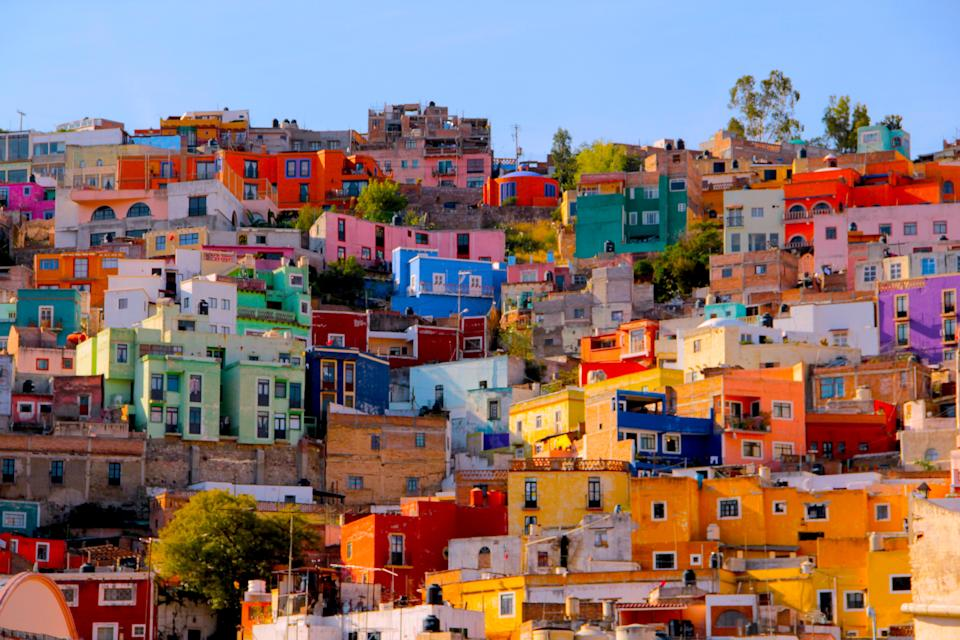 CASAS DE Guanajuato, Mexico. Photo: Getty
