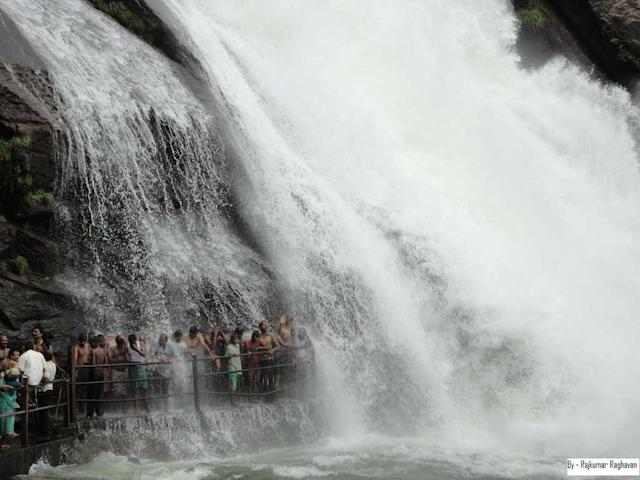 "Banatheertham Falls in Tirunelveli, Tamilnadu. Banatheertham is part of the Mundanthurai Tiger Reserve and lies above the Karayar dam.<br><br>by <a href=""https://www.flickr.com/photos/90261866@N02/"" rel=""nofollow noopener"" target=""_blank"" data-ylk=""slk:Rajesh PMK"" class=""link rapid-noclick-resp"">Rajesh PMK</a> /Flickr"