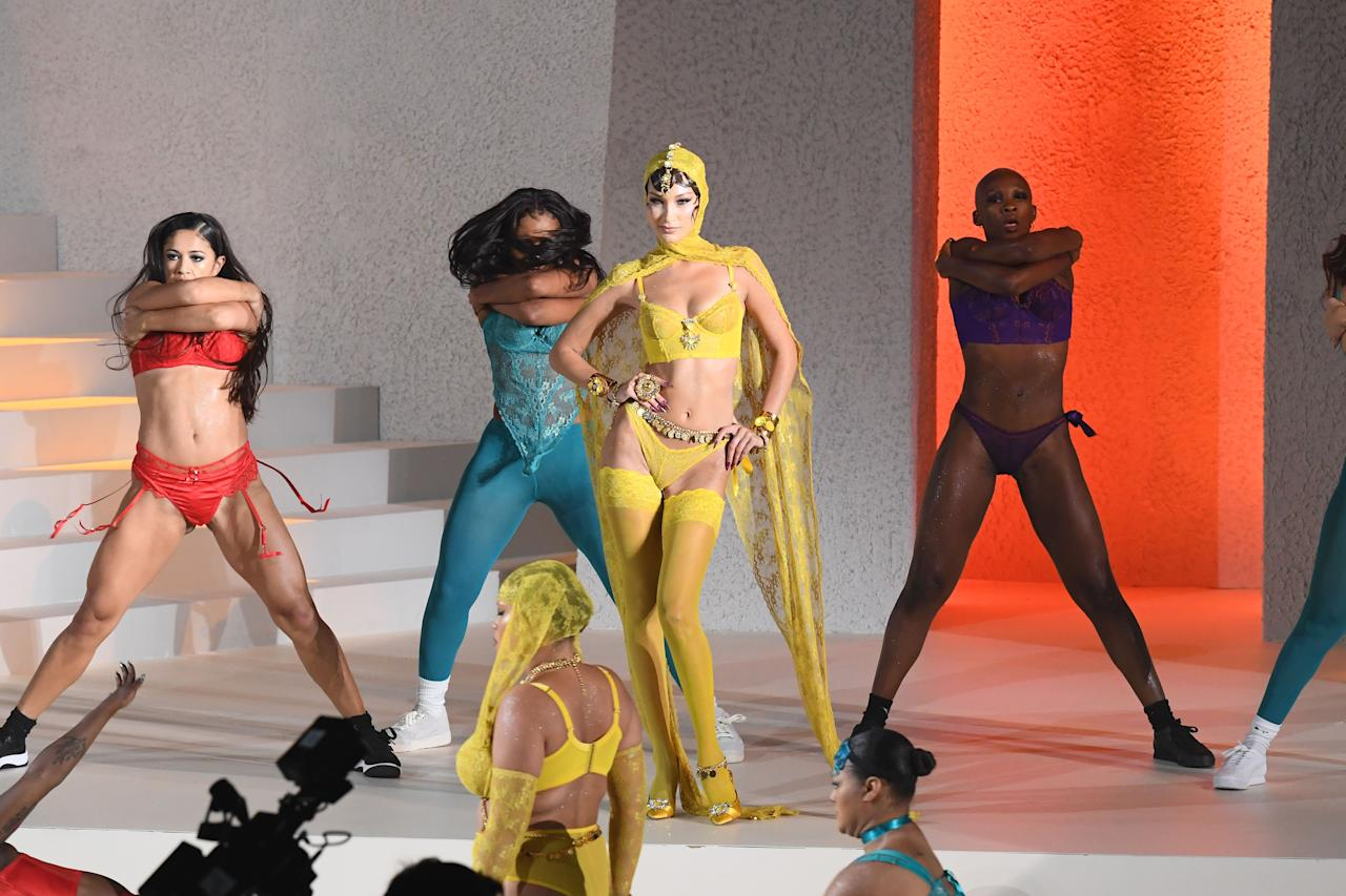 "<p>Rihanna debuted her latest <a href=""https://www.amazon.com/adlp/savagexfenty"" target=""_blank"">Savage X Fenty lingerie collection</a> with a diverse and dance-filled <a href=""https://www.harpersbazaar.com/fashion/fashion-week/a29143403/rihanna-savage-fenty-show-2019-reactions-reviews/"" target=""_blank"">runway show during New York Fashion Week</a>. The show is now available to stream on Amazon Prime Video and to coincide, many of the looks from the runway are already available to shop now on Amazon. From the colorful bra and underwear sets worn by Bella and Normani to lace bodysuits and thermal shorts, click through to shop some of the newly-launched pieces from Bad Gal Riri herself. </p>"
