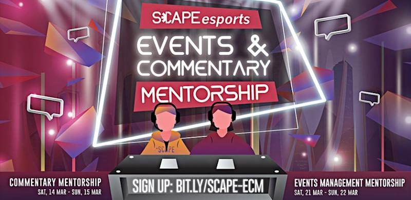 Esports Events and Commentary Mentorship (Singapore)