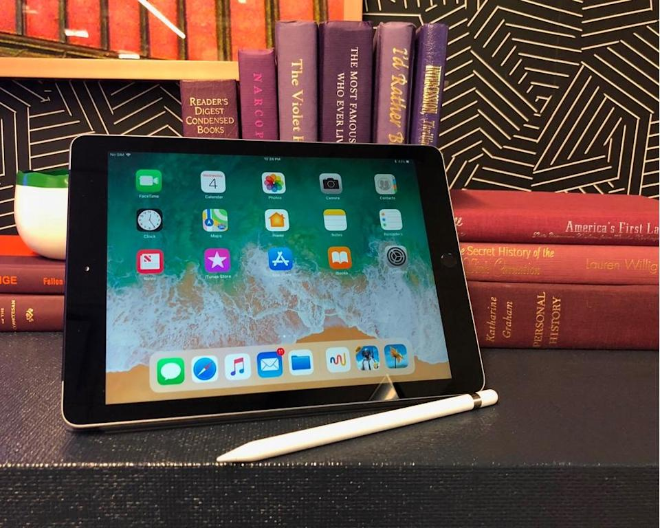 The base iPad now gets Apple Pencil support.