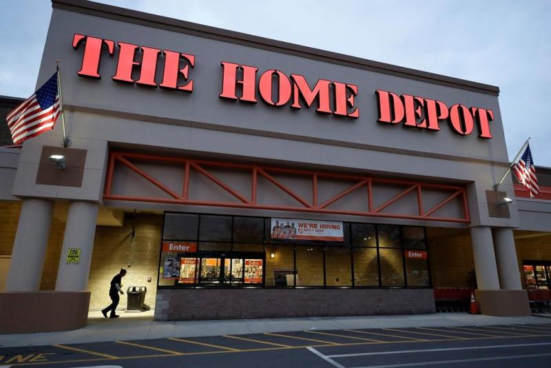 Home Depot's same-store sales surge in final quarter of 2019