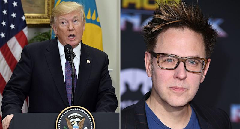 James Gunn Offers $100K to Get Donald Trump's Weight on